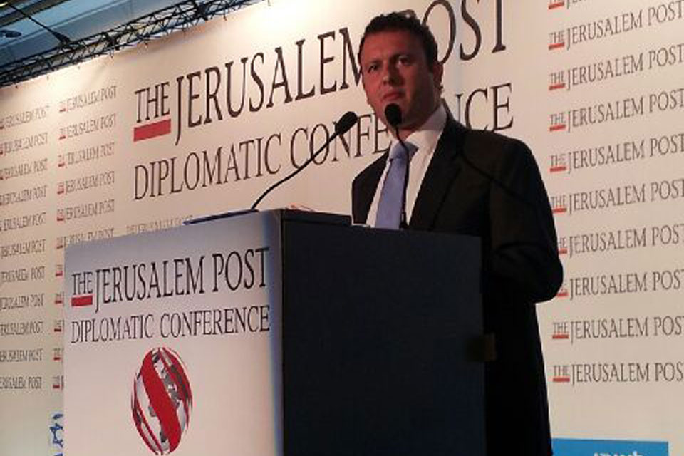 British Ambassador to Israel, Matthew Gould