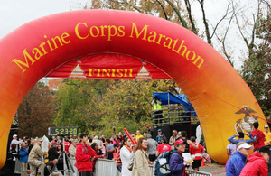 US Marine Corps Marathon, 2012