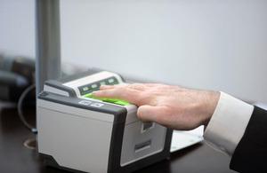 UK visa biometric test