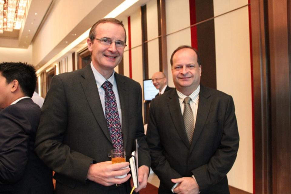 Ambassador with BCCT Director