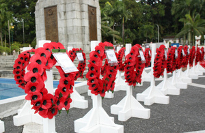 Remembrance Day Service 10 November, 2013, at Tugu Negara