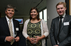 South West trade mission reception