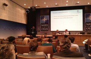 Understanding and working with NATO session underway