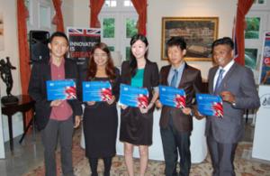 Chevening scholars 2013/2014