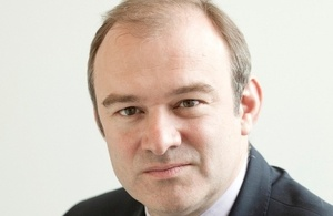Energy and Climate Change Secretary Edward Davey
