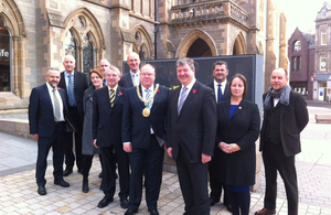 Alistair Carmichael and the Dundee City of Culture bid team