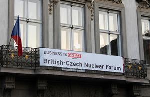 Britsko-české jaderné forum v Praze