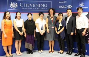 Hong Kong Chevening scholars