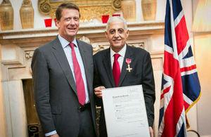 OBE ceremony
