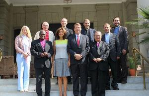 British delegation
