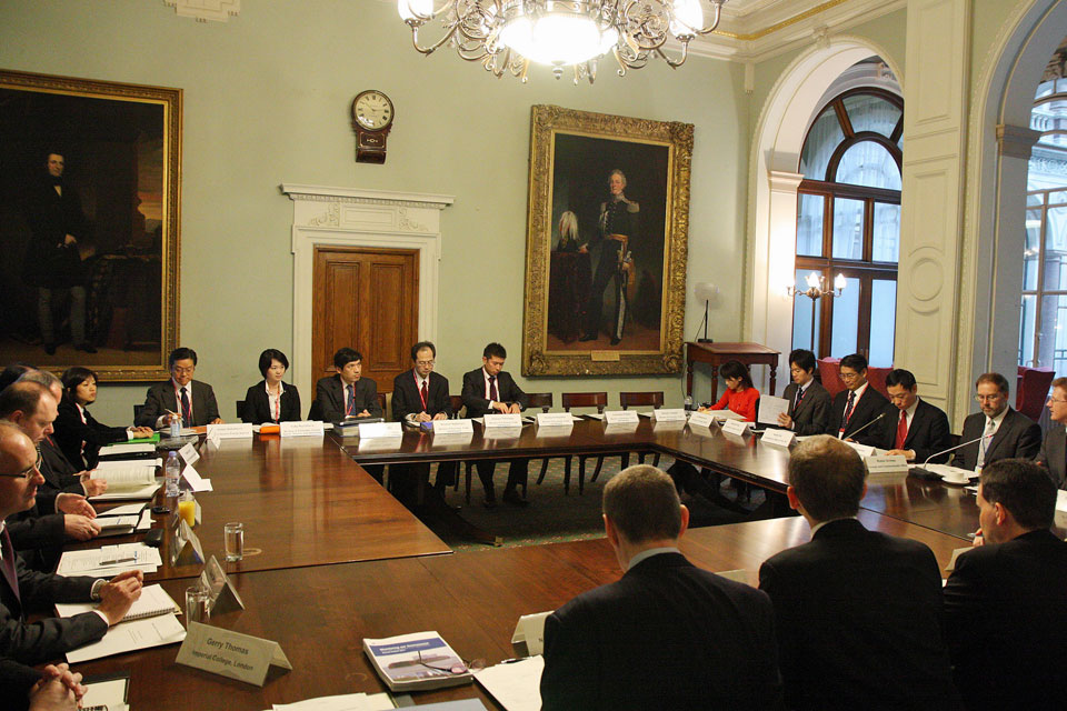 The UK - Japan nuclear dialogue