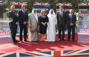 British Embassy in Bahrain Launches GREAT British Week 2014