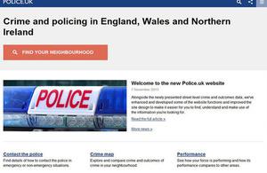 Police.uk website