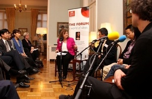 British Embassy joined in BBC Radio programme