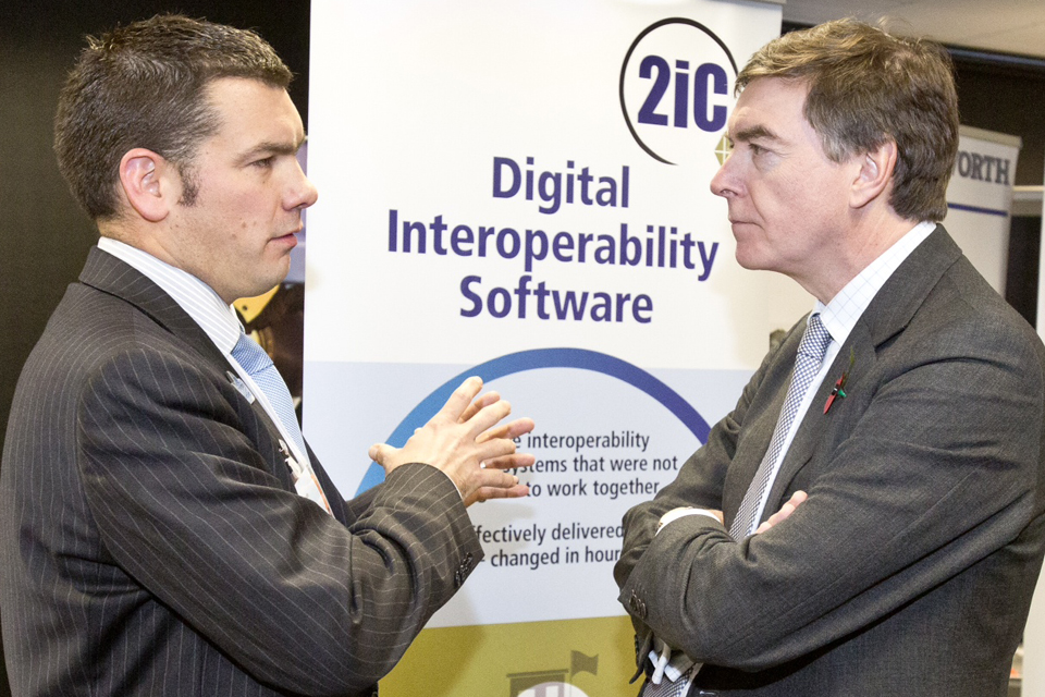 Philip Dunne and the small and medium-sized enterprises second-in-command