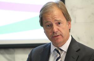 FCO Minister Hugo Swire