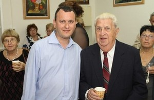 British Ambassador launches Holocuast survivors club in Haifa