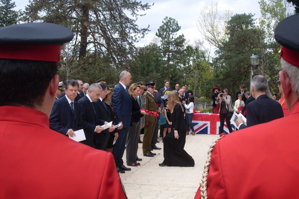 Remembrance Day in Albania