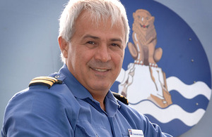 Royal Naval Reservist Lieutenant Commander Shah Esfahani served as Cultural Advisor to the Commander UK Task Group during the Cougar 11 deployment