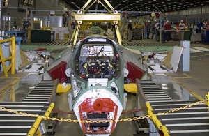 Lockheed Martin F-35B Joint Combat Aircraft in production