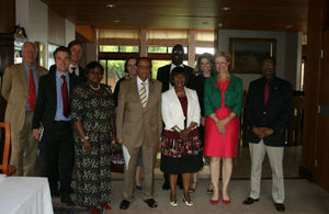 High Commissioner Judith Macgregor with other participants