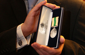 Civilian Service Medal (Afghanistan)