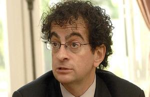 British Ambassador to Chile, Mr. Jon Benjamin.