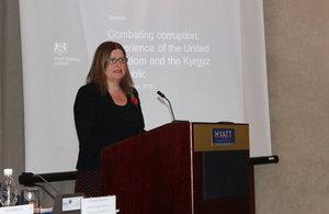 HMA addresses participants of the seminar