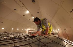 UK-funded humanitarian flight arrives in Cebu, Philippines. Picture: Simon Davis/DFID