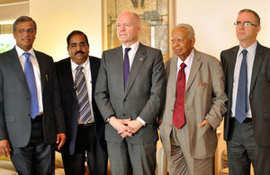 Foreign Secretary with the Tamil National Alliance leaders