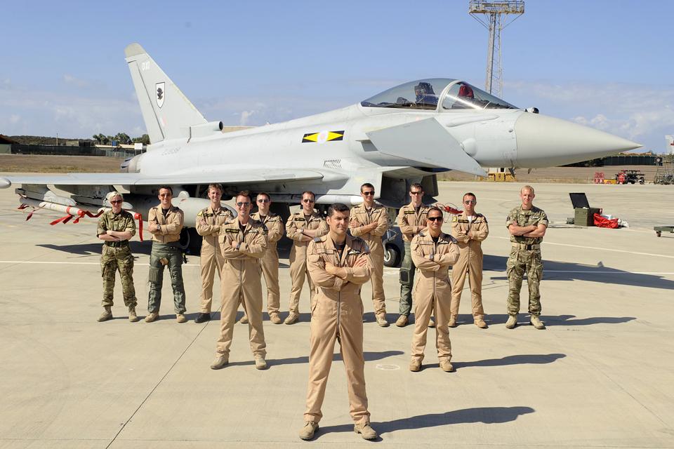 RAF pilots of 11 Squadron