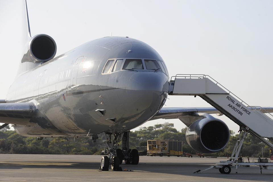 An RAF TriStar