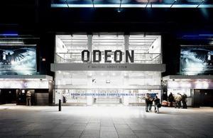 Odeon Cinema Leicester Square