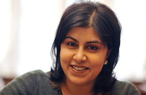 Foreign Office Minister Baroness Warsi