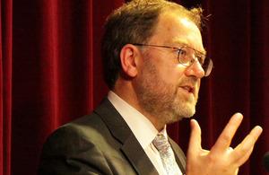FCO Chief Scientific Advisor Professor Robin Grimes