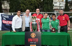 """México vivió el """"Manchester United Trophy Tour"""""""