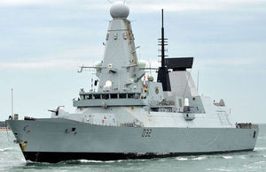 HMS Daring [Picture: Leading Airman (Photographer) Claire Myers, Crown Copyright]
