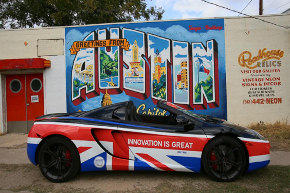 GREAT McLaren in Austin