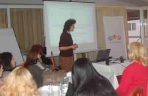 Training for primary school teachers for improving interaction among pupils.