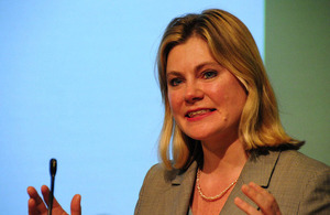 Justine Greening. Picture: Benet Coulber/DFID