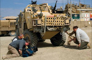 Jackal patrol vehicle