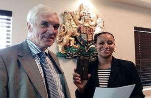 Governor Beckingham and Deputy Governor Williams