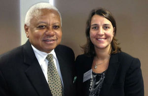 Chief Justice Hon. Chande and Lindsey McNally