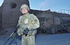 Corporal David Bradshaw