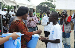Marking World Toilet Day in Kimpoko, DRC