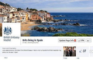 Brits living in Spain new Facebook page
