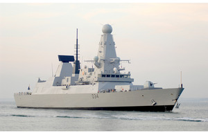 Type 45 destroyer 'Diamond'