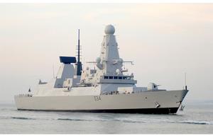 Type 45 destroyer 'Diamond'