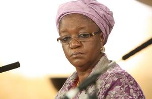 UN Special Representative Zainab Hawa Bangura