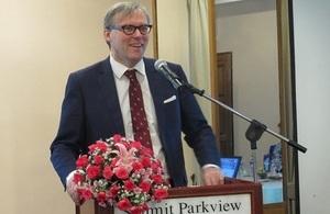 British Ambassador Andrew Patrick
